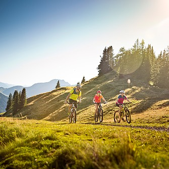 Mountainbiken in Saalbach Hinterglemm