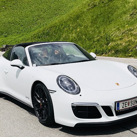 Porsche 911 hire for SONNE guests