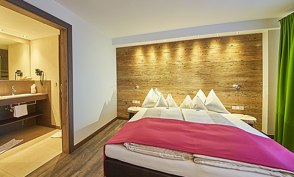 Junior Suite im Familienhotel in Saalbach Hinterglemm